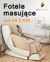Fotele z masażem Pro-Wellness