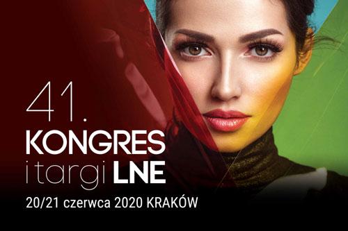 41. Międzynarodowy Kongres i Targi Kosmetologiczne LNE!